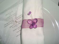 Strass pour d coration r ception de mariage - Rond de serviette noel a faire soi meme ...